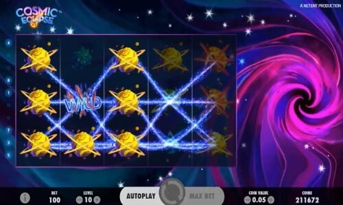 Cosmic Eclipse NetEnt Slot Review